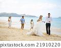新郎 海灘 婚禮 21910220
