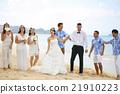 新郎 海灘 婚禮 21910223