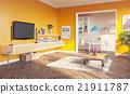 living room interior 21911787