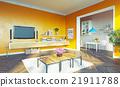 living room interior 21911788