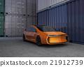 電動汽車 集裝箱堆場 車 21912739