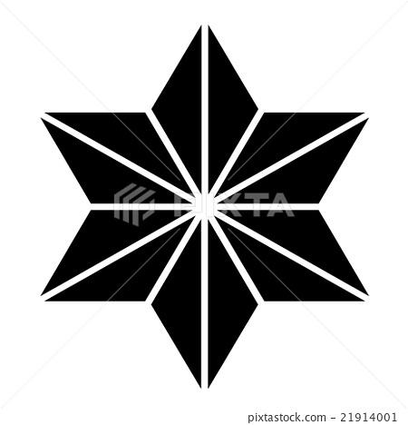 Family Crest Symbol Hemp Leaf Stock Illustration 21914001 Pixta