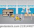 Production line vector 21914467