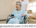 senior, wheelchair, wheel-chair 21914654