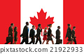 Canada National Flag Business People Team Concept 21922933