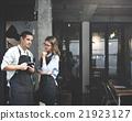 Barista Partner Working Coffee Shop Concept 21923127