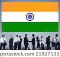 India Flag Patriotism Indian Pride Unity Concept 21927133