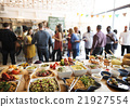 Buffet Dinner Dining Food Celebration Party Concept 21927554