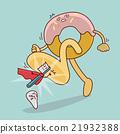 giant donut step on teeth 21932388