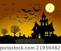 Halloween card. 21936482