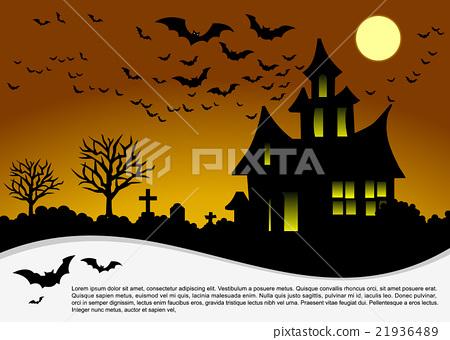 Halloween card. 21936489