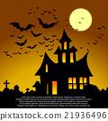 Halloween card. 21936496