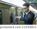 商務人士 電氣列車 火車 21938821