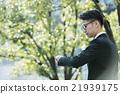 商务人士 青春 年轻 21939175