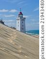 Lighthouse on a Sand Dune 21943480