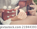 Hand playing guitar 21944393