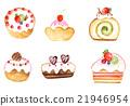 甜食 糖果店 甜点 21946954