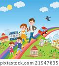 彩虹 矢量 家庭 21947635