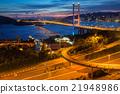 Tsing Ma Bridge in Hong Kong 21948986