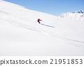 雪坡 滑雪度假村 运动 21951853