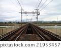 过河的铁路 21953457