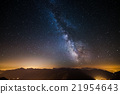 The Milky Way viewed from high up in the Alps 21954643
