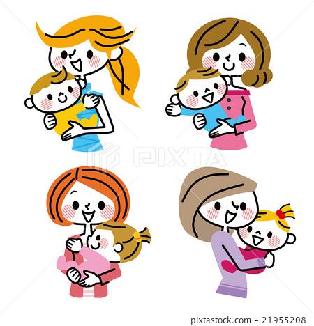 媽媽 母子 嬰兒 21955208