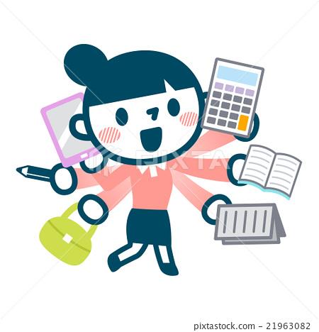 职业妇女 女强人 女企业家 21963082