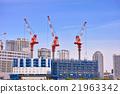 crane, cranes, construction sites 21963342