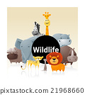 Wild animal background 3 21968660