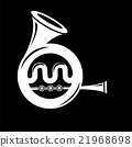 Musical French  Horn Icon  21968698