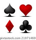 Card Suit Set 1 21971469
