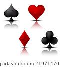 Card Suit Set 2 21971470