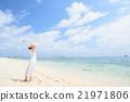 沖繩的海洋和女性 21971806