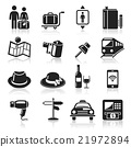Travel icons set. 21972894