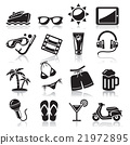 Travel icons set. 21972895