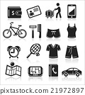 Travel icons set. 21972897