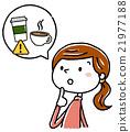 여성, 여자, 커피 21977188