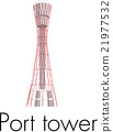 Kobe Port Tower 21977532