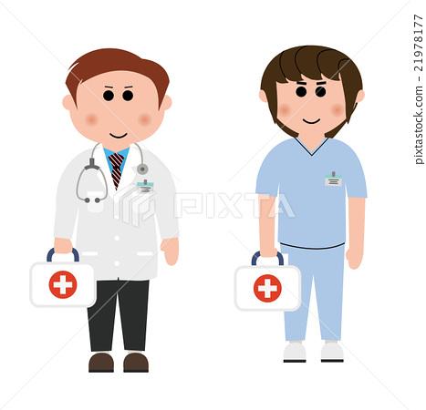醫生 醫療 矢量 素材 21978177