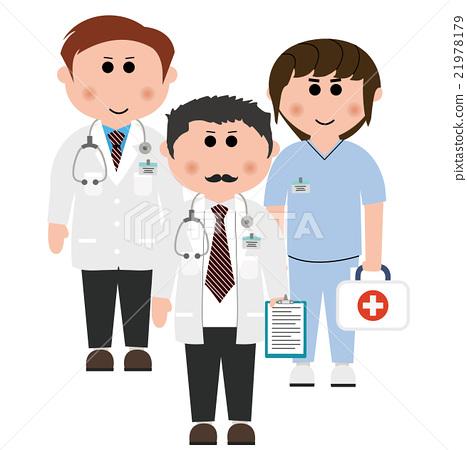 醫生 醫療 矢量 素材 21978179