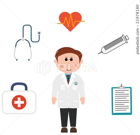 醫生 醫療 矢量 素材 21978180
