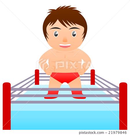 wrestler, brawler, combative sport 21979846