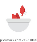 Flat Icon Herbs in bowls icon 21983048