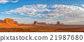 Monument Valley view landscape panorama 21987680