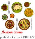 墨西哥 墨西哥人 烹饪 21988122