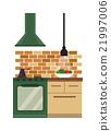 flat, illustration, vector 21997006