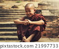 The boy of Novice Buddhist monk 21997733