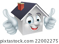 House Thumbs Up Man Character 22002275