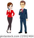 Male Female News Reporter 22002464